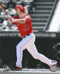 Mark Trumbo Signed Photo