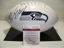 Marshawn Lynch Signed Football