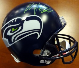Marshawn Lynch Signed Helmet