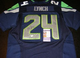 Marshawn Lunch Signed Jersey