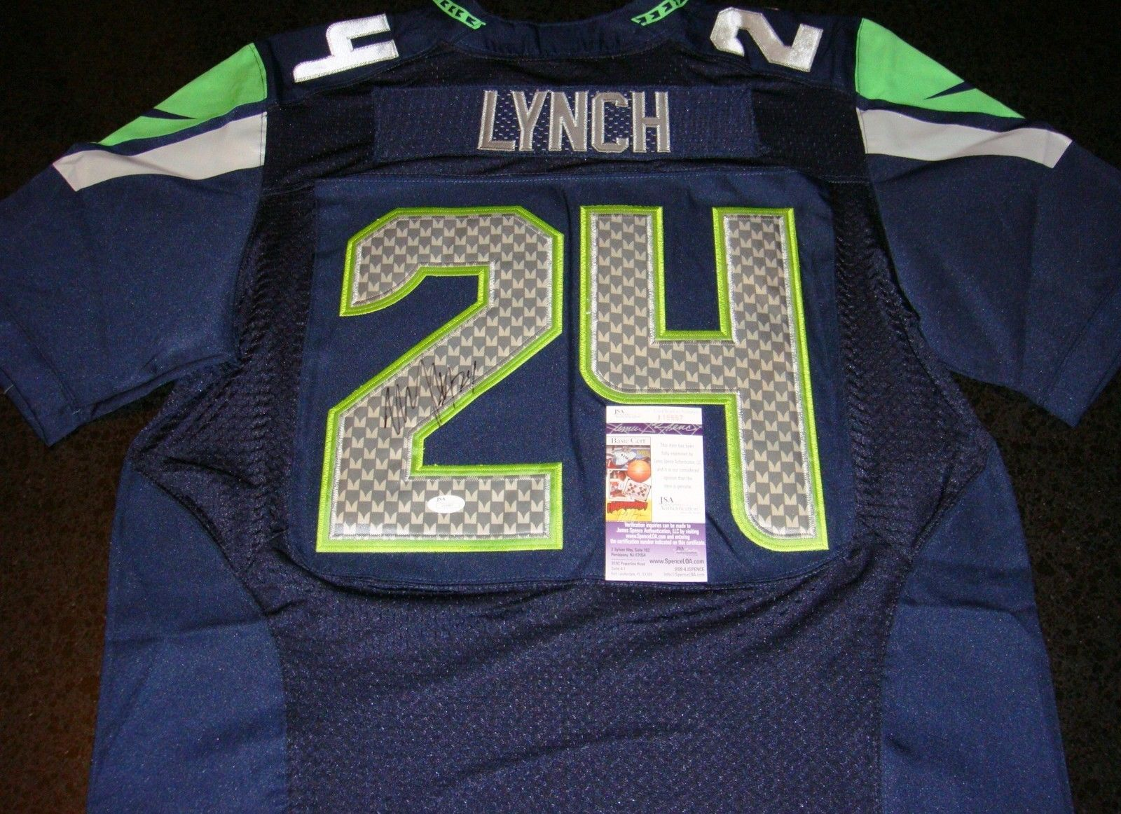 online store 4c96d 97c41 Marshawn Lynch Cards, Rookie Card Checklist and Memorabilia ...