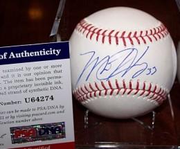 Matt Harvey Signed Baseball