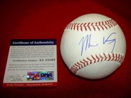 Matt Kemp Signed Baseball