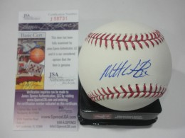 Matt Wieters Signed Baseball