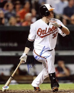 Matt Wieters Signed Photo