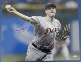 Max Scherzer Signed Photo