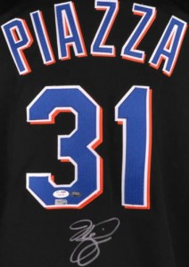 Mike Piazza Signed Jersey