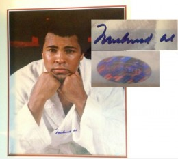 Muhammad Ali Signed Photos