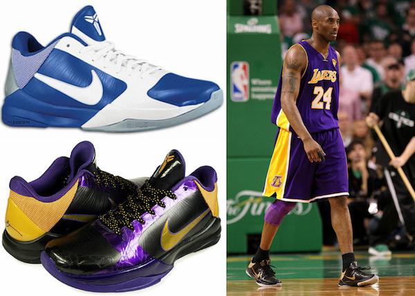 hot sale online cc11b 87b01 Kobe Bryant Shoes Guide, Visual History, Timeline, Gallery, Nike, Adidas