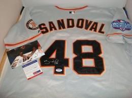 Pablo Sandoval Signed Jersey