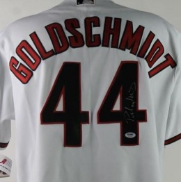 Paul Goldschmidt Signed Jersey