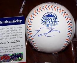 Prince Fielder Signed Ball