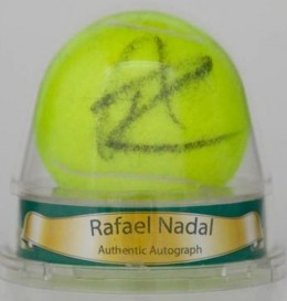Rafael Nadal Signed Tennis Ball