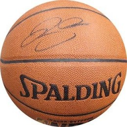 Ray Allen Signed Basketball