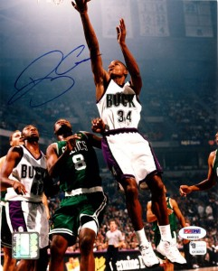 Ray Allen Signed Photo