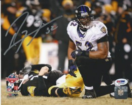 Ray Lewis Signed Photo