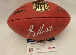 Ray Rice Signed Football