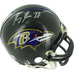 Ray Rice Signed Helmet