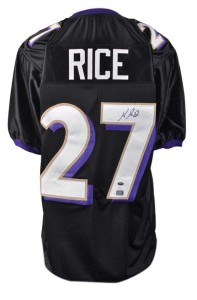 Ray Rice Signed Jersey