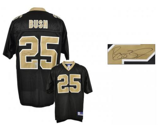 reggie bush signed jersey