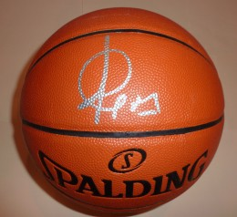 Ricky Rubio Signed Basketball
