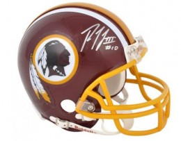 Robert Griffin III Signed Helmet