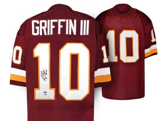 big sale 96c52 9ad19 Robert Griffin III Cards and Memorabilia Buying Guide