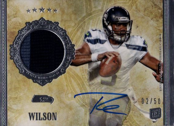 Russell Wilson Topps Five Star RC