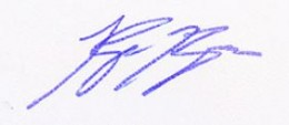Ryan Braun Signature Example
