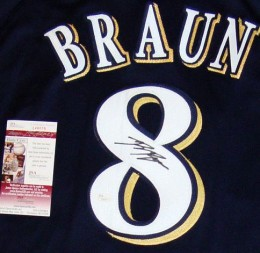 Ryan Braun Signed Jersey