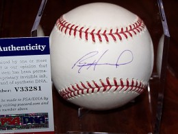 Ryan Howard Signed Baseball