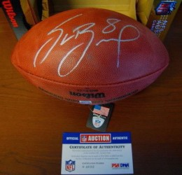 Sam Bradford Signed Football