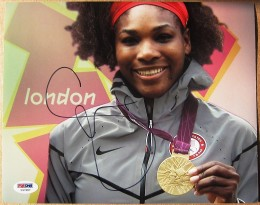 Serena Williams signed Photo
