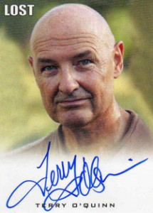 2010 Rittenhouse LOST Seasons 1 Thru 5 Autographs Terry O'Quinn as John Locke