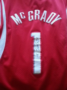 Tracy McGrady Signed Jersey