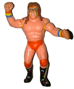 WWF LJN Grand Toys Series 6 Ultimate Warrior Figure