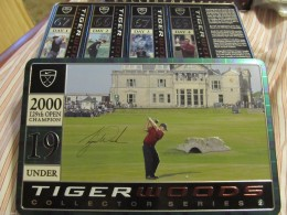 129th Open Championship Tiger Woods Golf Balls