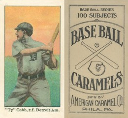 Ty Cobb Cards and Autograph Buying Guide 23