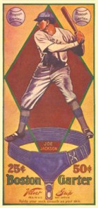 1914 Boston Garter (Color) Joe Jackson #6