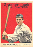 Shoeless Joe Jackson Baseball Cards and Autograph Guide