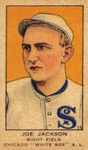 1919 W514 Strip Card Joe Jackson #15