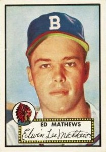 Eddie Mathews Cards and Autographed Memorabilia Guide 1