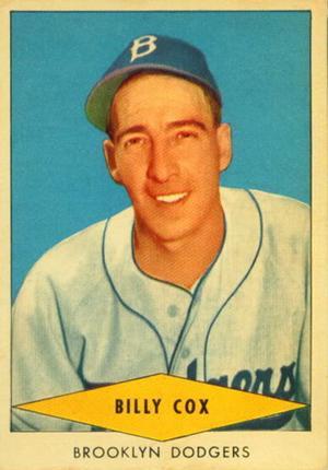 1954 Red Heart Baseball Cards 8