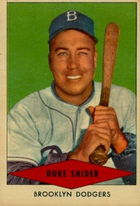 1954 Red Heart Baseball Cards 33