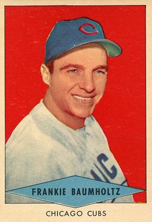 1954 Red Heart Baseball Cards 6