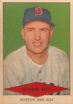 1954 Red Heart Baseball Cards 16