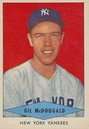 1954 Red Heart Baseball Cards 24