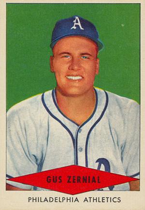 1954 Red Heart Baseball Cards 37