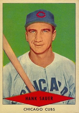 1954 Red Heart Baseball Cards 30