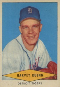 1954 Red Heart Baseball Cards 26